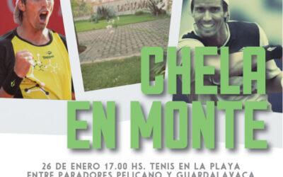 JUAN IGNACIO CHELA PRESENTE EN MONTE HERMOSO